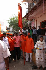 Shiv Sena  Gudi Padwa Celebrations Bandra Bazar Road 2012 by firoze shakir photographerno1