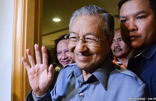 Selepas gempur Semenanjung, Tun Mahathir ke Sarawak