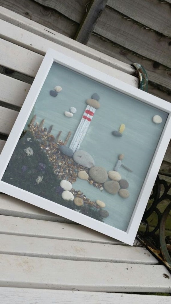 Handy Rock And Pebble Art Ideas For Many Uses29