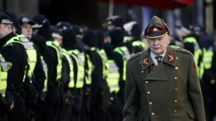 Marsz weteranów SS na Łotwie