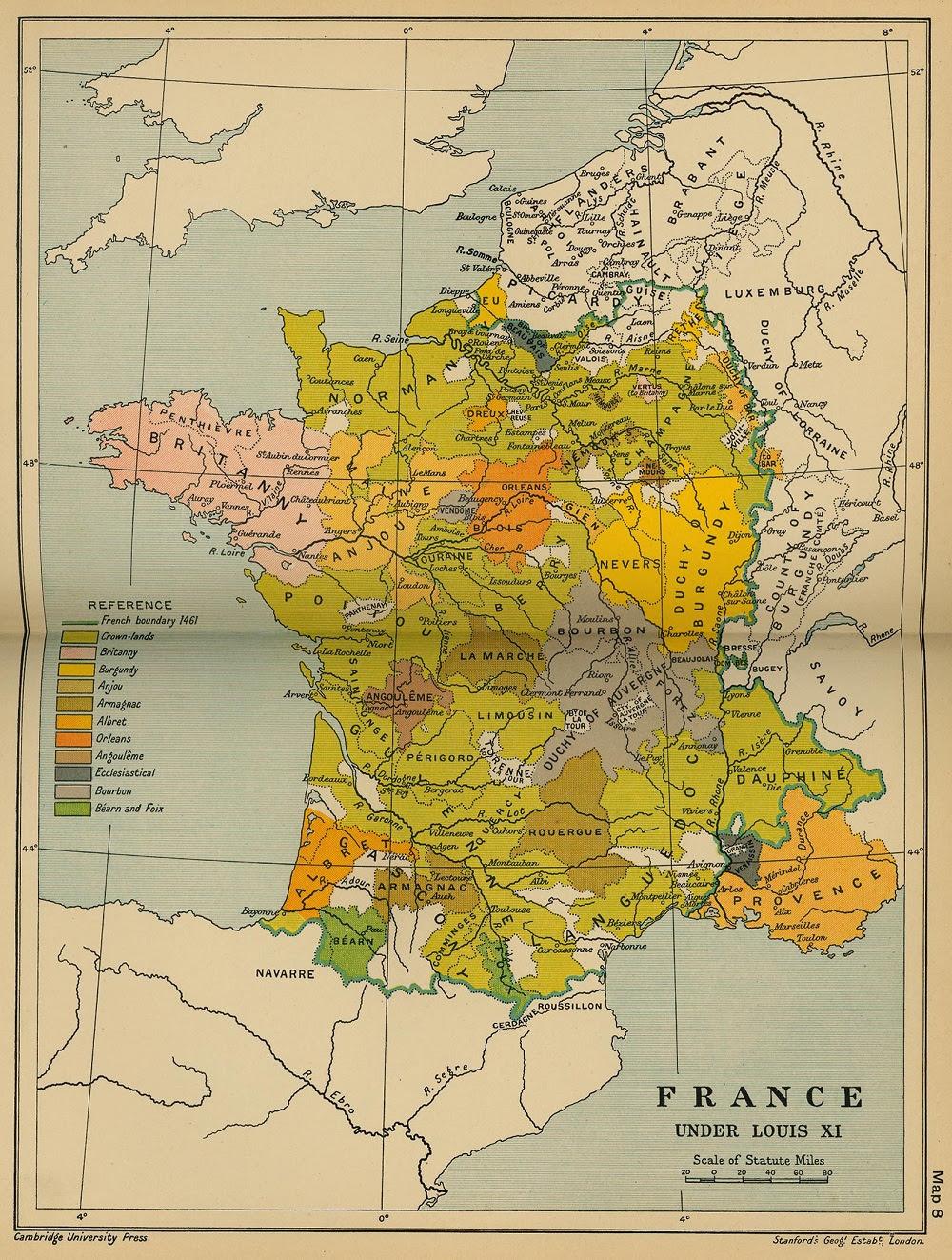Rois De France Géographie