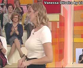 Vanessa Oliveira sensual na Rtp