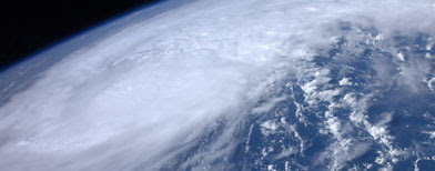 Irene from space (REUTERS)