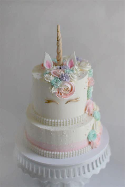 Lizzie?s Unicorn Birthday Cake   The Couture Cakery