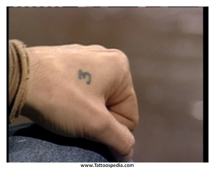 Cross Tattoo Between Thumb And Index Finger 5