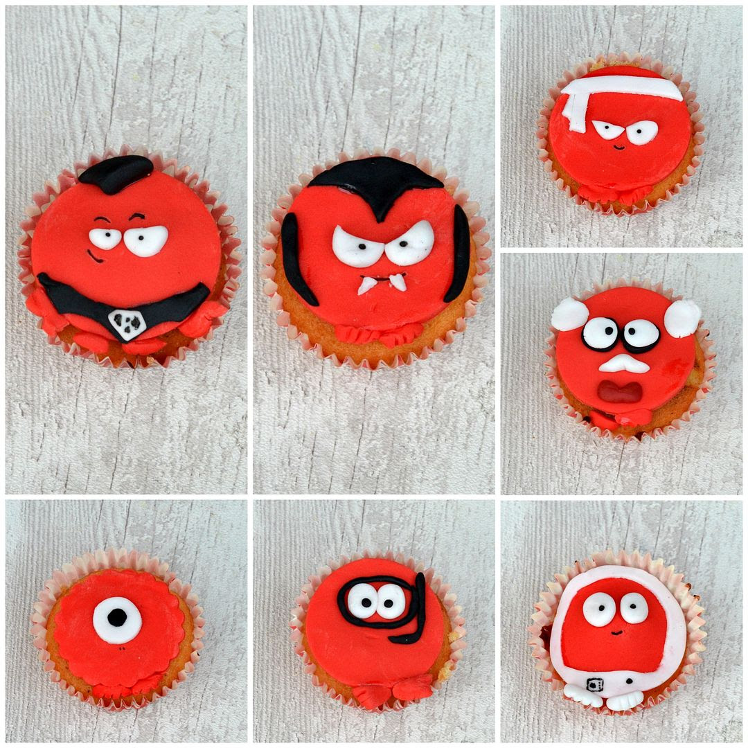 Red Nose Day Cupcakes for Comic Relief #raisesomedough