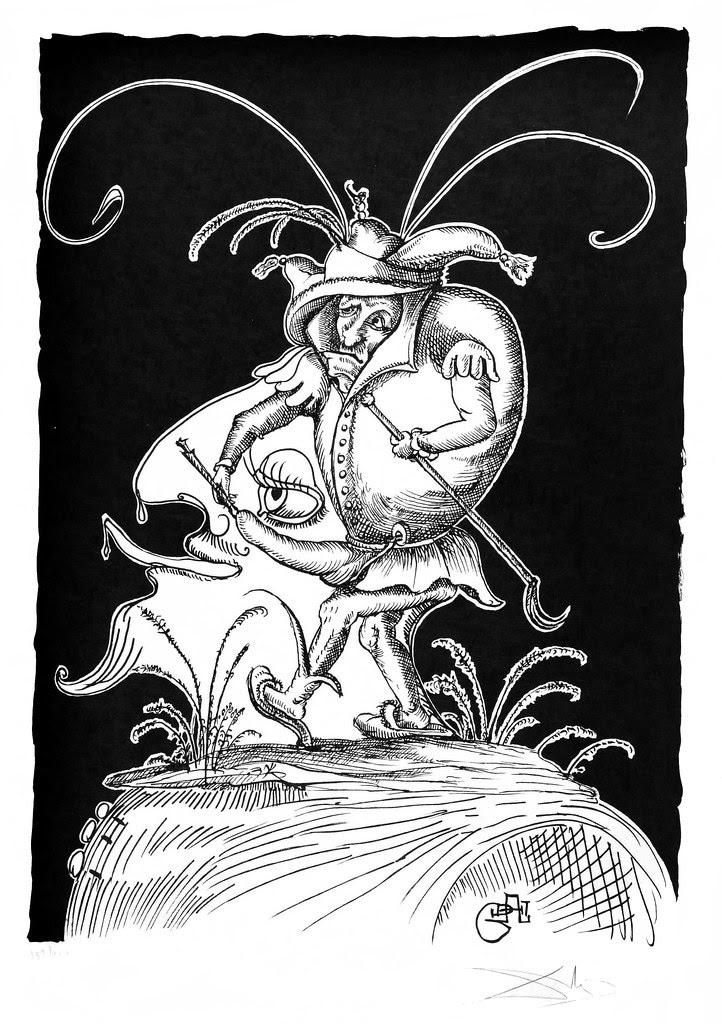 Salvador Dali - Pantagruel 12 (1974)