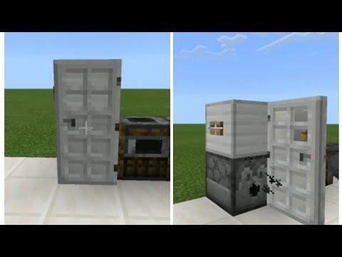 Minecraft : Como fazer uma Geladeira funcional