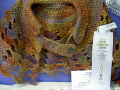 Third prize - crochet shawl or stole