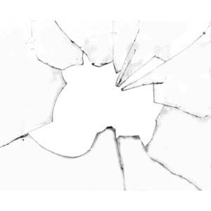 Создание эффекта разбитого стекла