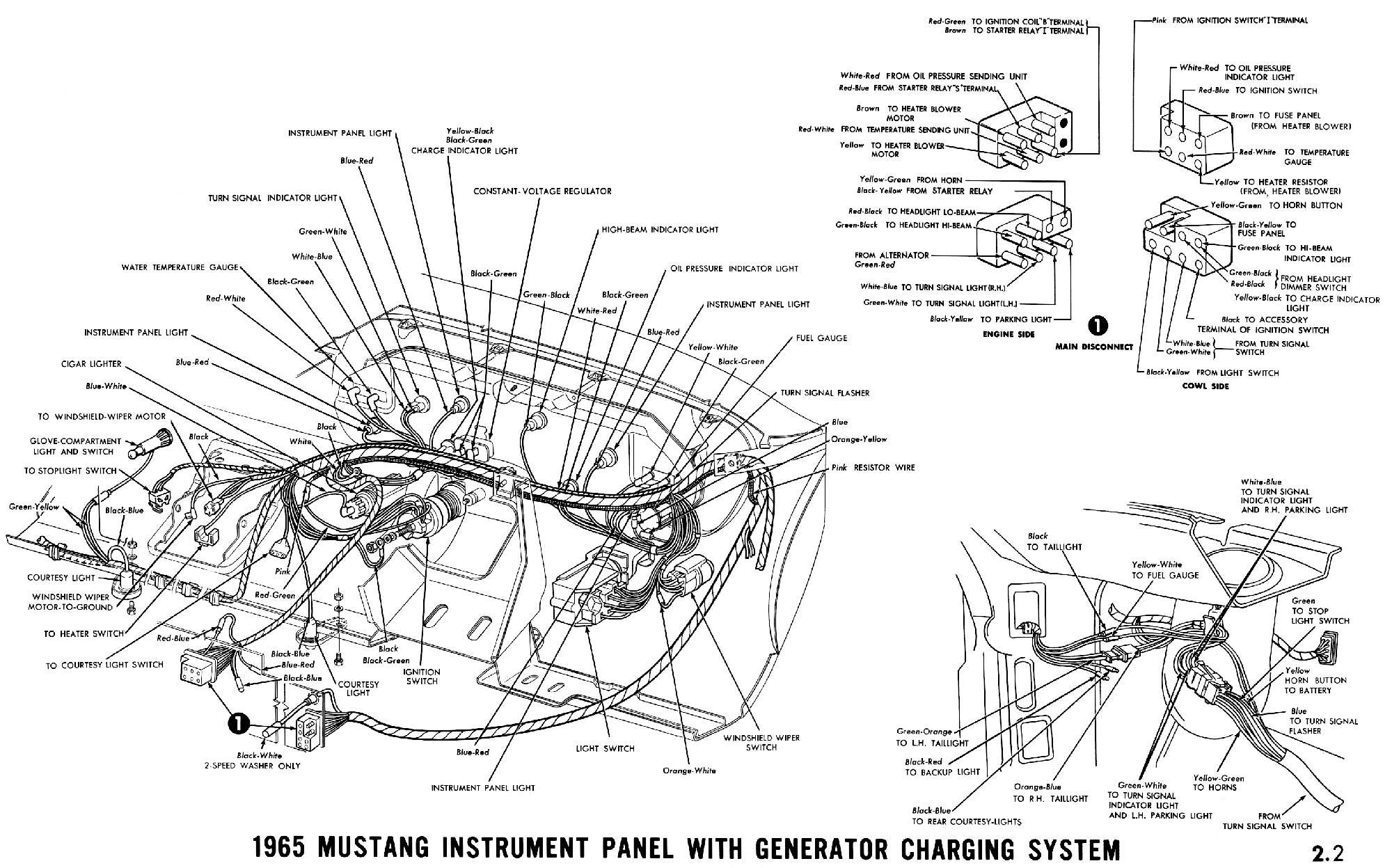 909e87 1965 Mustang Wiring Harness Diagram Wiring Library