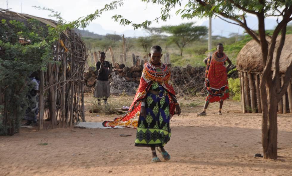Las mujeres samburu que viven en Umoja deciden su propio destino.