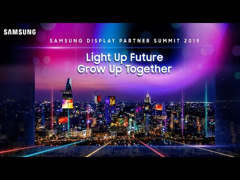 Samsung Professional Display - Sự Kiện Partner Submit 2019