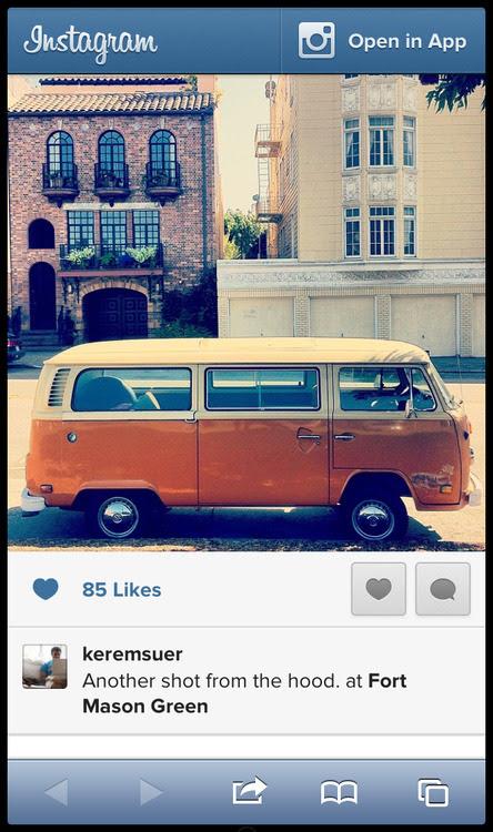 Nova página de fotos do Instagram está mais clean (Foto: Reprodução)
