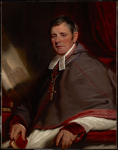 The Most Reverend Alexander MacDonell by Martiin Archer Shee, 1823