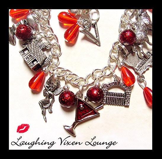 Vampire Blood Bracelet - Deluxe Charm Bracelet
