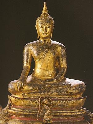 Subduing Mara, Phra Pathom Chedi, Sitting Buddha