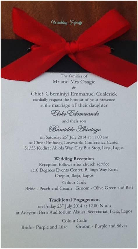 Wedding Invitation Cards In Nigeria   Sunshinebizsolutions.com