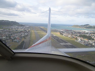 Wellington International Airport out the back of a C172