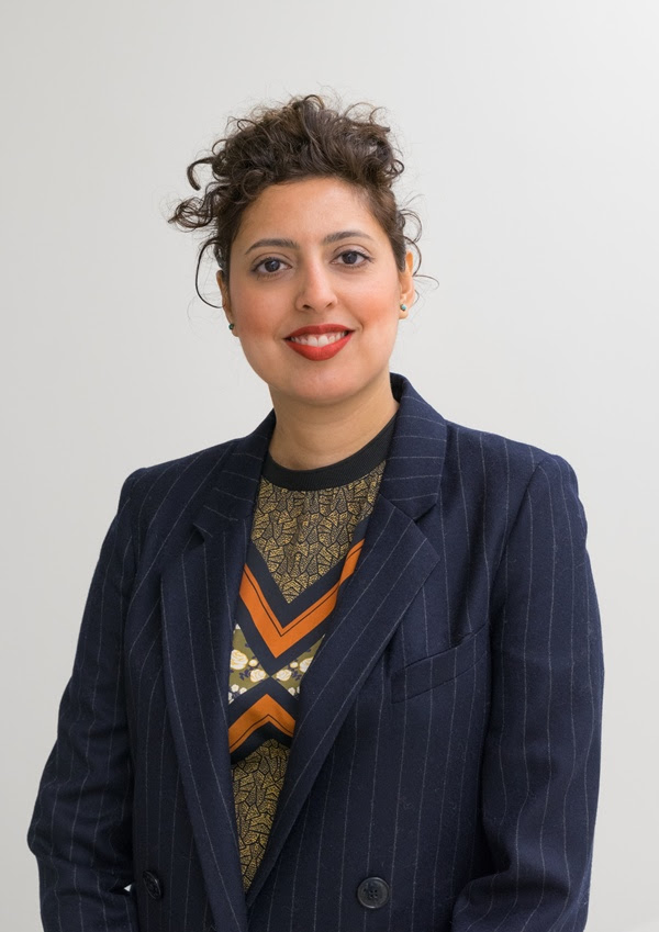 Sara Raza, Guggenheim UBS MAP Curator, Middle East and North Africa. Photo: Courtesy of the Guggenheim.