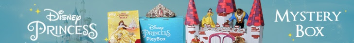 Disney Princess box, Disney Princess Subscription Box, Disney Pleybox, toys, toy subscription, princess subscription