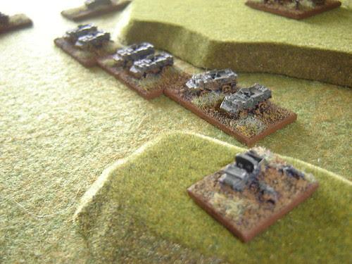 Mortar Carriers behind FAC