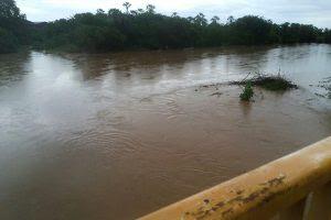 Já choveu cerca 65 mm em Apodi desde a sexta-feira, 17 de fevereiro (Foto: Redes Sociais).