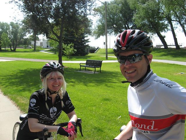 Biking w/Scott