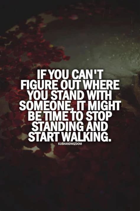 Where You Stand In A Relationship Quotes