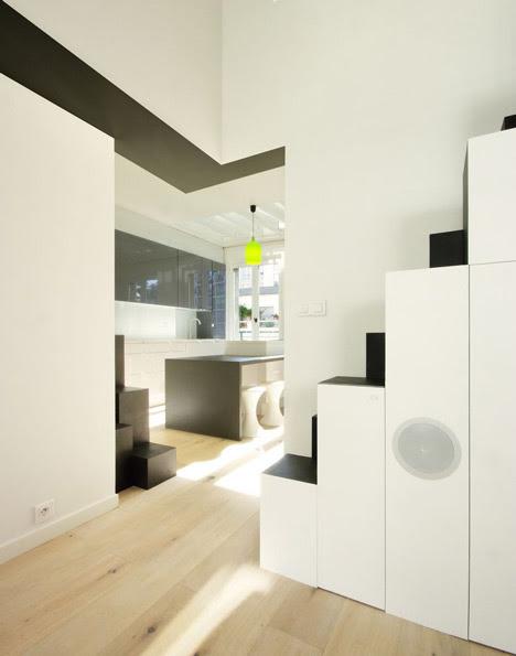 Pequeño dúplex en París - MAAJ Architectes