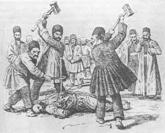 Supplice infligé à un baha'i