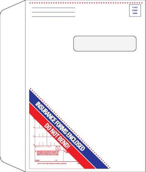 insurance claim envelope hc