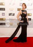 Jennifer Lawrence awesome in black