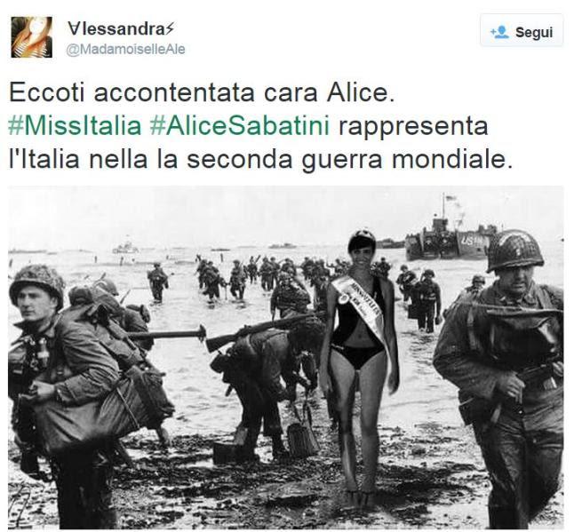 Miss Italia 2015 I Social Impazziscono Dopo La Gaffe Sulla