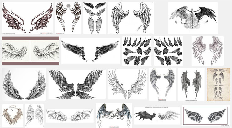 Wings Tattoo Meanings Itattoodesignscom