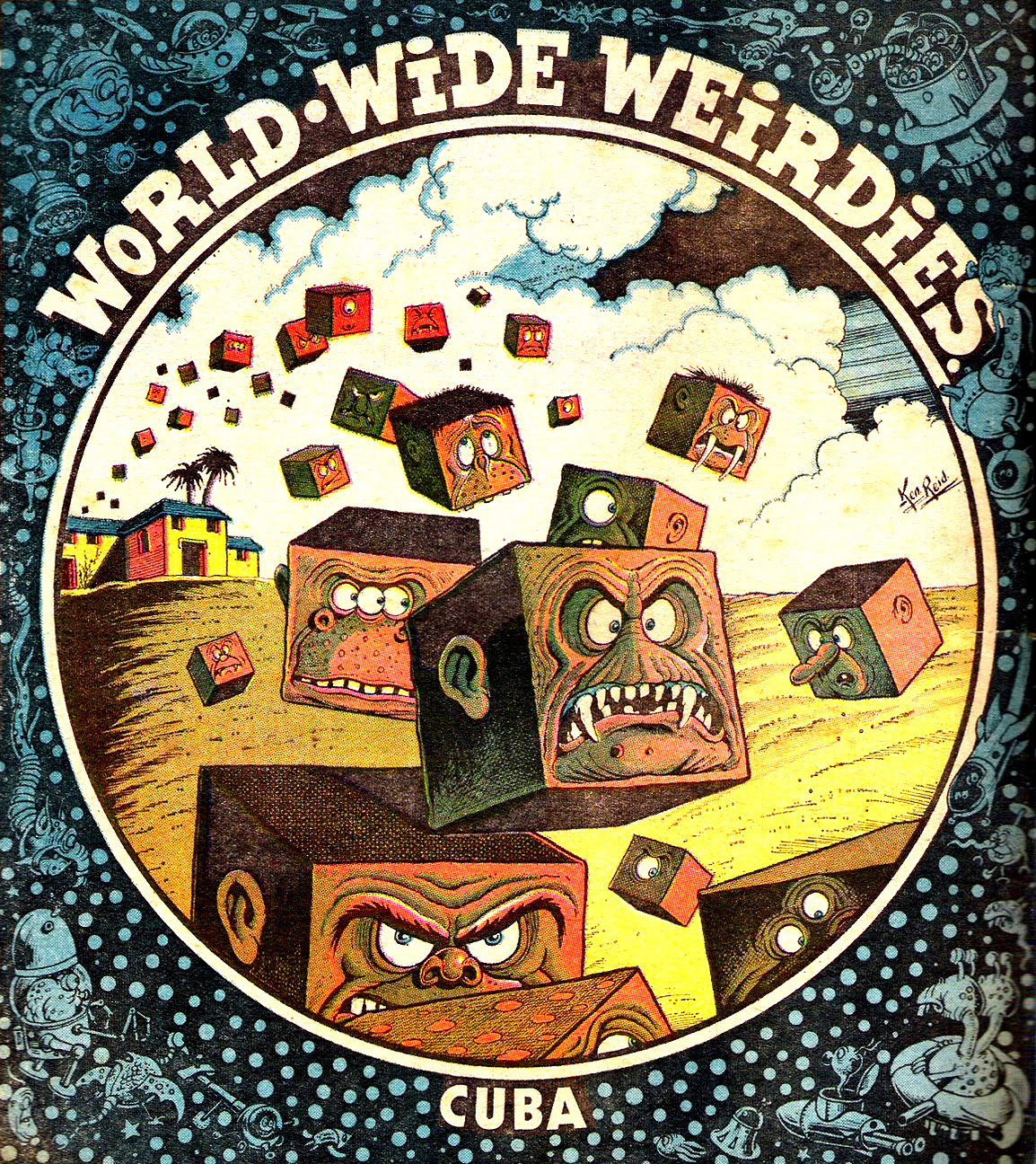 Ken Reid - World Wide Weirdies 86