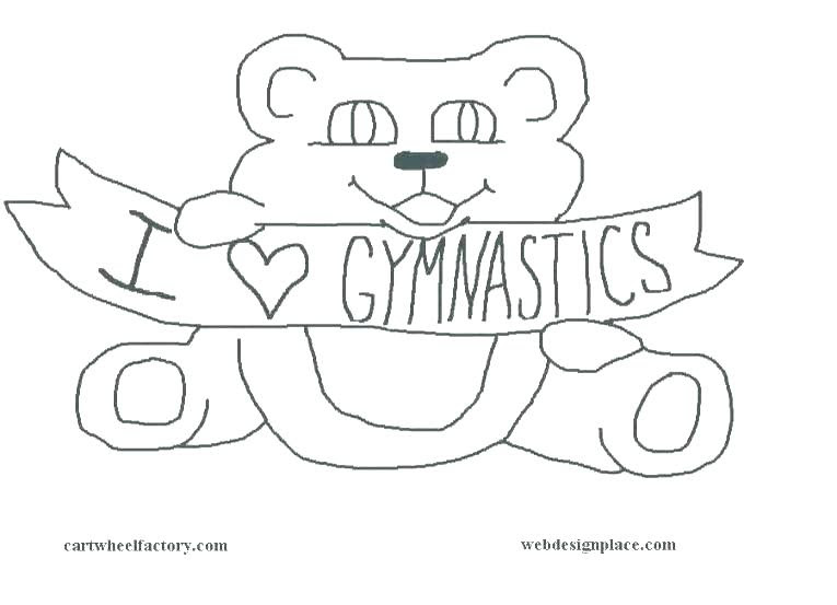 Gymnastics Coloring Pages To Print at GetColorings.com ...