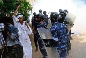 Sudan protests over the repeal of fuel subsidies. The partition of the country and the western sanctions have caused economic problems in this central African state. by Pan-African News Wire File Photos