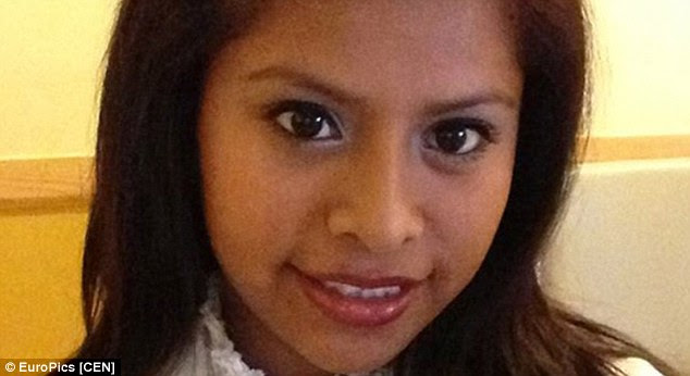 Nathaly was hit over the head with a blunt instrument, and then stabbed her several times, before her unborn baby baby was cut from her womb