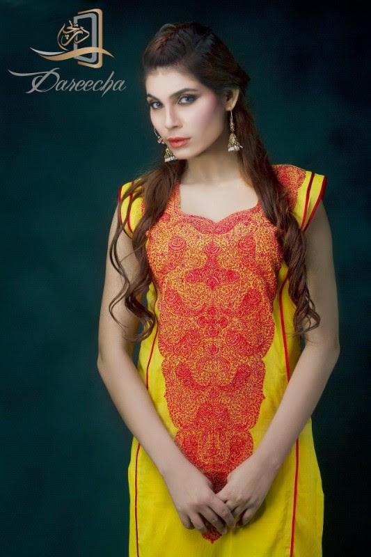 New-Neckline-Dress-Designs-by-Dareecha-Embroidered-Kashmiri-Winter-Dress-Collection-2013-6