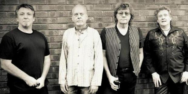Halstead Gazette: (Left to right) Tony Kelsey, Trevor Burton, Bev Bevan and Phil Tree