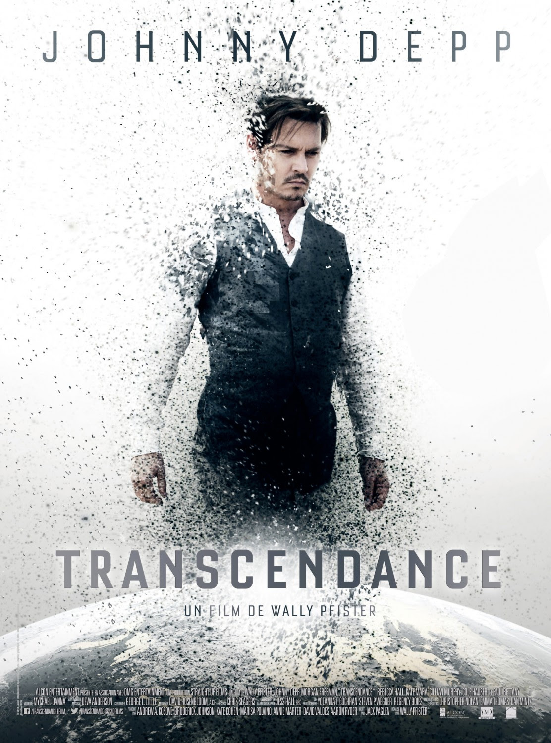 Extra Large Movie Poster Image for Transcendence