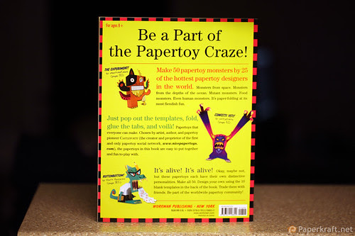 Papertoy Monsters Book 008