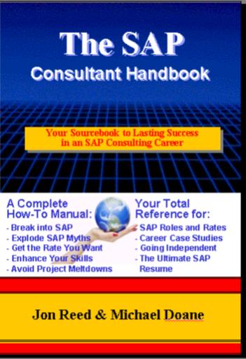 Book Review The Sap Consultant Handbook Graversen