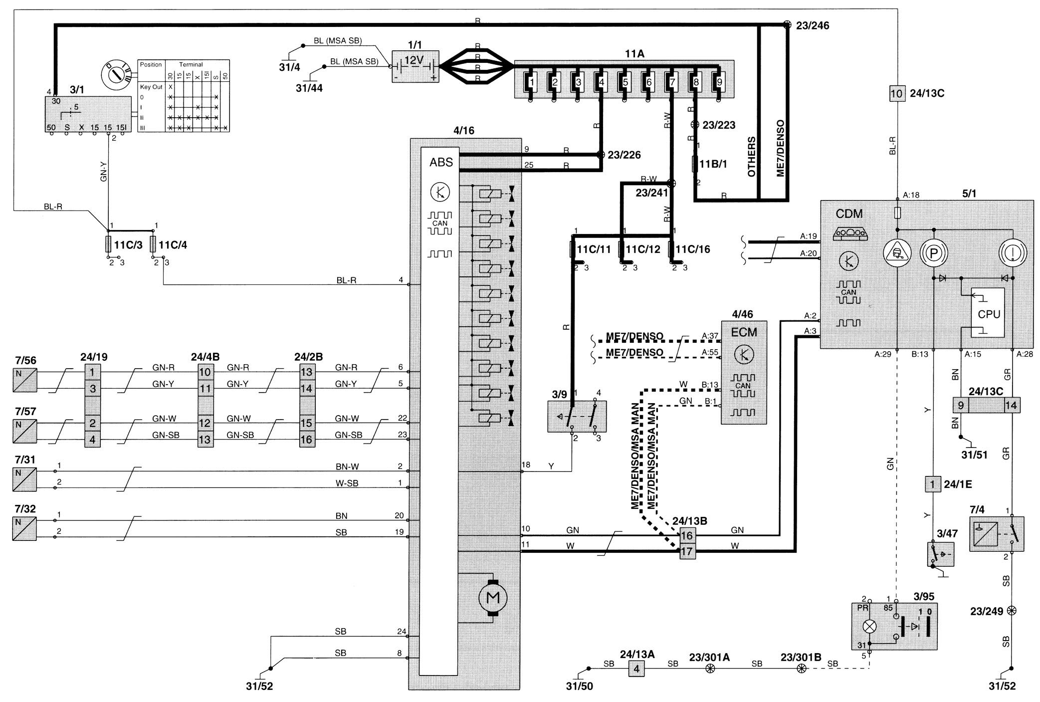 1998 Volvo V70 Wiring Wiring Diagram Schematic Clue Agility A Clue Agility A Aliceviola It