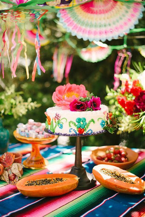 mexican party ideas   Wedding & Party Ideas   100 Layer Cake
