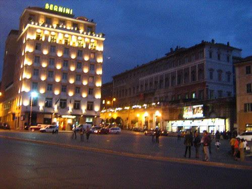 Via Veneto at night 2