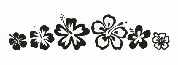 Flower Border Clip Art At Clkercom Vector Clip Art Online