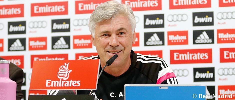Rueda de prensa de Carlo Ancelotti