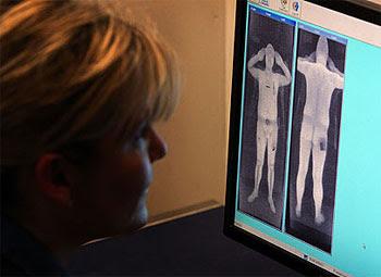 Naked Body Scanner Images